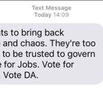 So, @Our_DA resorted to #RooiGevaar cheap what nonsense is this? Shameless, #DA. 👇🏾👇🏾👇🏾 https://t.co/0MXAZmpaNI