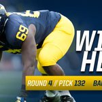 DT @WE_69 is heading to BALTIMORE after being selected in the 4th round by the @Ravens!   #GoBlue #ProBlue #NFLDraft https://t.co/ZECJ23F4C0