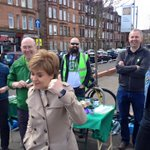 Looks like @glasgowgreens won over another skeptical voter today. #activeSGP https://t.co/w4iyaBVicv