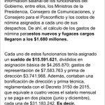 A buena hora @elespectador vuelve a poner el dedo en el derroche: cortinas, aviones, chocolates y ahora asesores!! https://t.co/S5WH8VcxFH