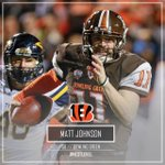 Matt Johnson tells us hes headed to the Cincinnati Bengals. Congratulations @11DroppinDimes! https://t.co/9ysh61haMC