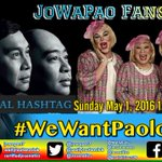 Good morning Dabarkads! Happy Labor day. Have a blessed Sunday. #WeWantPaoloEB https://t.co/9YKQGd82Z1