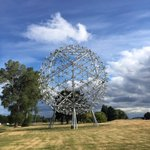 #NZ largest public #sculpture by #NeilDawson in #Christchurch 6 storey high 20m diameter weight 25 tonnes #sculptor https://t.co/IOuXzstAGF