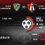 ⚽️ @Chiapas_FC vs. @atlasfc ¡Vamos Rojinegros! Más información: https://t.co/aW3HomORzy https://t.co/TUs88rSp4M