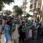 NAP? #Pakistan Free state for Banned outfit #ASWJ staged a rally near Gurumandir #Karachi https://t.co/RdoC3XWDXx @husainhaqqani #Taliban