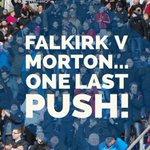 MATCHDAY INFORMATION: Falkirk v Greenock Morton https://t.co/4WrIDMnjMg #COYB https://t.co/db0M1xCvGr