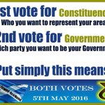 Pls send a clear signal #BothVotesSNP at coming election.Splitting the vote will only aid the mingers in Wasteminger https://t.co/O6zZ0gSsYD