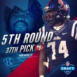 Congrats to Fahn Cooper on being selected by the 49ers! 5th round, 174th overall. @NFL #NFLDraft #NFLRebels https://t.co/s07CtuejXJ