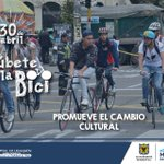 Súbete a la Bici y promueve el cambio cultural @SectorSalud @luismorales0621 @EnriquePenalosa @usaquenET https://t.co/U3l0bfraIY