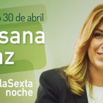 En unos minutos entrevista a la Presidenta @susanadiaz en @SextaNocheTV https://t.co/MKutkh3OHl