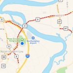 Heavy #MAtraffic traffic due to #Extravaganja2016. #NorthamptonMA #HadleyMA https://t.co/eqyJy6Wtdl
