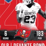 Congrats #DevanteBond-great prospect and an outstanding person - @TBBuccaneers excellent pick! #OUDNA #NFLDraft2016 https://t.co/iY8AbkjPk0
