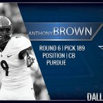 Welcome to Dallas Anthony Brown from @BoilerFootball #CowboysDraft https://t.co/3PWzSnTltZ