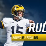Jake Rudock is heading to DETROIT after being selected in the 6th round by the @Lions!   #GoBlue #ProBlue #NFLDraft https://t.co/8SzmMnBcoX
