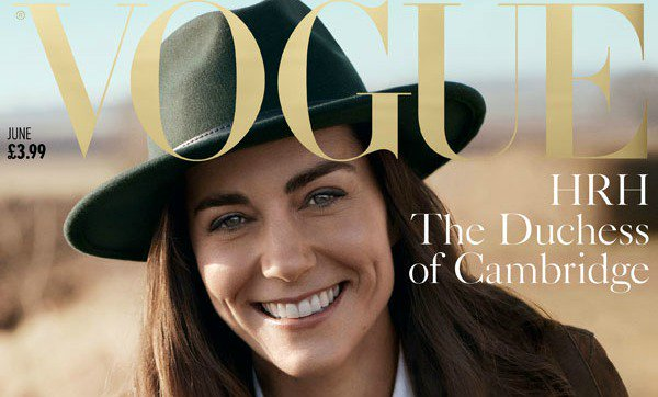 Kate Middleton is the picture of country chic on the cover of British Vogue: