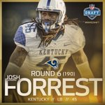 Were going defense with this pick!  Welcome Josh Forrest! #RamsDraft https://t.co/k7T6bW1e8u