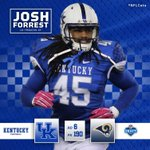 Proud of you, @Josh4re5t! Hes headed to LA after being selected in the 6th round. #NFLCats https://t.co/N9sgzdfdvd