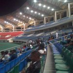 @wizkidayo but this stadium is empty !! Where are you?? Chaaii @Peter_Kays lol thanks for the pictures https://t.co/RoXFGF3ueu