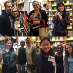 Here are our winners from the scavenger hunt! We had a fun time, & hope everyone did too! #independentbookstoreday https://t.co/qKIo7eIOmj…
