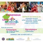 Este domingo 1 de mayo en Comayagua celebramos a las madres con 3 recreovias @JuanOrlandoH @HildaHernandezA https://t.co/O53A89tk6n