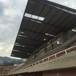 Así quedó el techo del polideportivo sur y por ello se decidió realizar el partido a puerta cerrada @MillosFCoficial https://t.co/jgsjO6602A