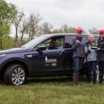 Lauren Kieffer won the #RK3DE Land Rover Best Ride of the Day Award: a 24-mo lease of a Land Rover Discovery Sport! https://t.co/ZHztl2wXaJ