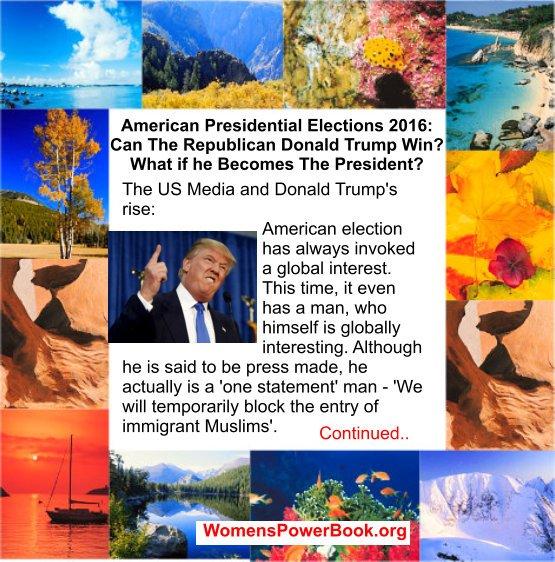 #Presidenttrump #cnnelection #cnndebate Womens Power site: Media proped him ?Trump president