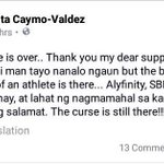 We love her attitude more than anything else. Thank you, Inay Lita! We got her back ALWAYS. ???????????? #OBF #PHENOMOUT RT https://t.co/lReDis8hMU