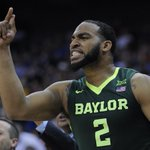 Rico Gathers played 4 years of basketball at Baylor.   He was just drafted in the 6th round by the Dallas Cowboys. https://t.co/hHzF3RBM55