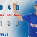 FINAL: River Hawks cant get offense going in game two, fall 1-0. Xirinachs 6 IP #UnitedInBlue #AEBASE https://t.co/zDI9PiCOeF