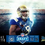 From #UCLA to Miami. Congrats to the newest member of the @MiamiDolphins @thomas_duarte18. #NFLBruins #NFLDraft https://t.co/tdpJDXBV0w