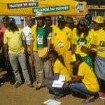 Anc Leadership & volunteers before siyababangena in Zithobeni in Tshwane. Voters cant wait to vote Anc. Viva ANC! https://t.co/rjBwvTjjA3