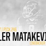With the 246th pick in the 2016 #NFLDraft, we select LB Tyler Matakevich. #SteelersDraft https://t.co/h8OMfC4aVa