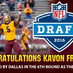 Congrats to safety Kavon Frazier for being drafted by the Dallas Cowboys in the sixth round of today's NFL Draft. https://t.co/Vz1W4sI5zO