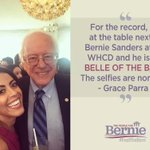Grace Parra and many others were excited to see Sanders & Jane at White House Correspondents Dinner tonight. #WHCD https://t.co/6RNy8F9TA4
