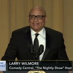 Watch FULL REMARKS from @POTUS & @larrywilmore here: https://t.co/nG3UGjl9zS https://t.co/oXYsZiWUdp