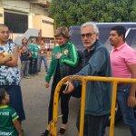 La llegada de Jesús Martínez al estadio León para el partido @clubleonfc @Tuzos https://t.co/Fl0az5LN5Y