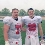 Great experience playing in the Ohio North South Classic today with the future roommate @gavin_cupp 🏈 #sports https://t.co/jfaPtx9CPO