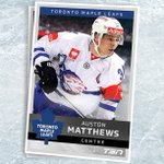 Will Auston Matthews go No. 1 to Toronto? If so, we have his hockey card is ready to go. #TSNHockey https://t.co/UuhVbzLGLD