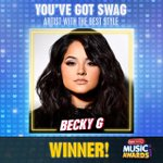 #YouveGotSwag—Artist With Best Style goes to @iambeckyg! Thanks for keeping it fresh! #RDMA https://t.co/FN1ilCWgC8