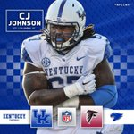 DT CJ Johnson has signed with the @AtlantaFalcons! #NFLCats #WeAreUK https://t.co/x3Itq0Vt2b