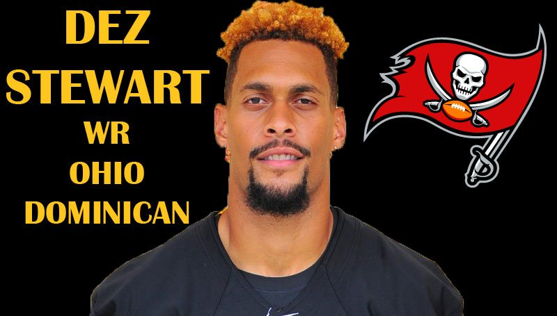 RELEASE | Stewart Signs Free Agent Deal With Tampa Bay https://t.co/VRhQQOciM5  @ODUPanthersFB https://t.co/VBMMWPHX5A