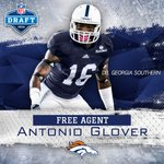 RT @gsathletics_fb: Congrats to Antonio Glover on becoming a Denver Bronco! https://t.co/xWFB17IPVF