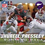 Congrats to @Lil_Pressley on signing with the @Vikings today! #GoLobos https://t.co/NAiqFqAzBw