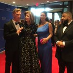 With @djkhaled, his wife Nicole and @BillNye who are joining us at the @HuffingtonPost #WHCD table tonight https://t.co/TvHdXadLGm