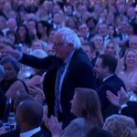 """.@POTUS: """"Weve got the bright new face of the Democratic Party here tonight: Mr. @BernieSanders."""" #WHCD https://t.co/lXKMiJBiSa"""