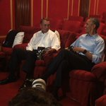POTUS and @SpeakerBoehner at Fridays clandestine filming session at the @WhiteHouse. https://t.co/OUajLRkSfy