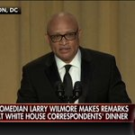 """.@larrywilmore to @POTUS: """"In less than a year, youll be playing golf everyday. So things wont be that different."""" https://t.co/WKli1DP7Yz"""