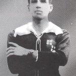 En los #91AñosdeGloria, GALO POMBAR CASTILLO fue el PRIMER CAPITÁN de BARCELONA SPORTING CLUB. ¡LEYENDA! https://t.co/zSycrRigLO