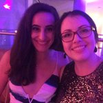 Hangin with @sarah_badawi at #NerdProm after party with #MSNBC. https://t.co/YuCy5fD0At